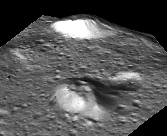 A possible pingo candidate on Ceres in perspective.